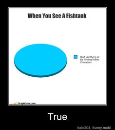 when I see a fishtank.. start identifying all the characters!!
