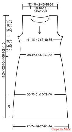 Dress Sewing Patterns, Sewing Patterns Free, Clothing Patterns, Free Pattern, Crochet Patterns, Sewing Basics, Sewing Hacks, Sewing Tutorials, Drops Design