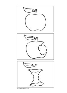 logische reeksen eenvoudig Sequencing Worksheets, Story Sequencing, September Preschool, Sequencing Pictures, Digital Story, Apple Activities, Apple Theme, Fruit And Veg, Olay