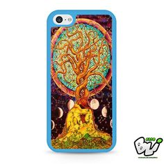 Colorful Painting Tree Of Life iPhone 5C Case