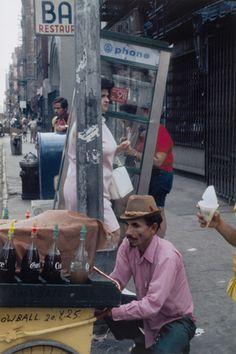 """New York Helen Levitt (American, 1913-2009) 1977. Chromogenic color print, printed c. 2005, 17 15/16 x 11 15/16"""" (45.6 x 30.4 cm). Gift of Marvin Hoshino. © 2011 The Estate of Helen Levitt 1261.2009.x1-x2"""