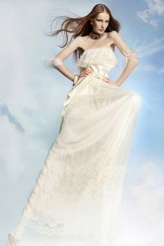 Bohemian gown from Victoria Kyriakides