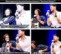 The real Jared and Jensen on TheFrenchMistake