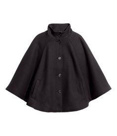 Black cape from H&M.
