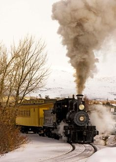 Take a step back in time at the Nevada State Railroad Museum - a great place to see the preserved railroads of Nevada's past.