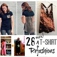 28 More Incredible T-shirt Refashions | Endlessly Inspired