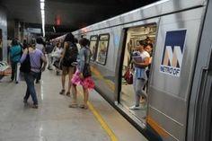 Polícia Federal fará treinamento para retomada de trem com reféns no Metrô-DF - Notícias - R7 Distrito Federal