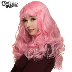 RockStar Wigs® <br> Madonna™ Collection - Bubble Gum Pink - 00528