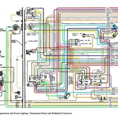 1967 67 Chevy Truck 11x17 Laminated Full Color Wiring