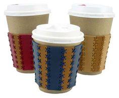 coffee cup sleeve テイクアウト用のコーヒーカップスリーブ