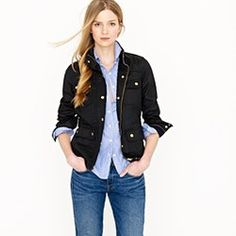 Love the waxy feel of this jacket!