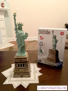cb2a1a40bb7 Build Your Own Statue Of Liberty With Ravensburger 3D Puzzle