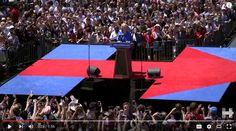 Quiet competence versus slogans and mass rallies