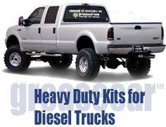 Heavy Duty Kits for Diesel Trucks