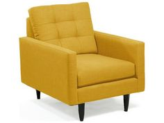 Loni M Designs 2612 Mustard Accent Chair