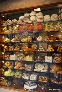 Beautiful bakery window...