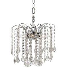 "Nicolli Clear Crystal 12"" 4-Light Plug-In Swag Chandelier - #Y0485 | LampsPlus.com"