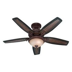 Claymore Ceiling Fan with Light Kit in Brushed Cocoa   Nebraska Furniture Mart