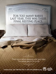Don't let this be your baby's final resting place.