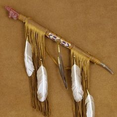 Native American Eagle Peace Pipe Stone Buckskin Beaded Ceremonial Peace Pipe Andy Abeita (ONE OF A KIND)