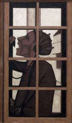John Brack (Australia 1920 – 11 Feb The telephone box, 1954 Australian Painters, Australian Artists, Painting People, Modern Artists, Art For Art Sake, Gravure, Life Drawing, Box Art, Art Google
