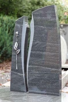 Természetes kő Fiedler: Single sír berendezés Virginia Fekete