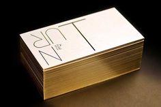 30 biglietti da visita creativi pinterest black business card gold foil stationery by turnstyle business card colourmoves