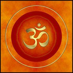 Mandala Panel to hang on the wall for harmonisation, feng-shui, meditation, anti-stress, zen Ohm Symbol, Indian Gods, Indian Art, Hindu Symbole, Om Art, Ganesha Painting, Om Shanti Om, Spiritual Symbols, Sacred Geometry