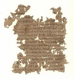 Papyrus manuscript of the Gospel of Matthew, and Acts, it contains only Mathew 26:29-40 and Acts 9:33-10:1. These two fragments were found together, they were part of a codex containing the four Gospels and Acts. Found in Egypt, dates from around 250 AD and it is currently housed at the University of Michigan (Inv. 6652) in Ann Arbor.