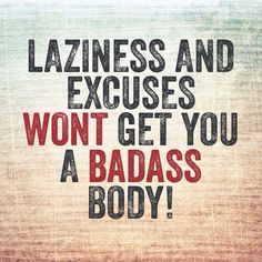 Little motivation for those of you thinking about skipping your workout tonight! #SummerGirlFitness