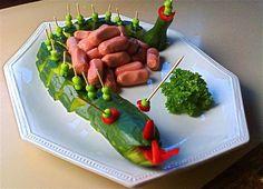 Prinssin nakit lohikäärmeellä lastenjuhliin Kotikokki.netin nimimerkki Maitzon reseptin mukaan