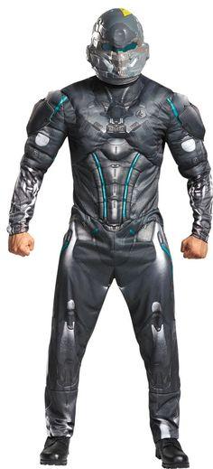 Costumes! Halo Nation Spartan Jameson Locke Costume Set Adult #DC #Costume