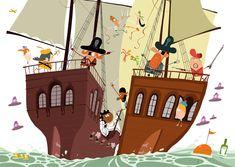 Pirate Sticker Book on Behance