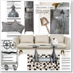 """""""Industrial Chic"""" by lidia-solymosi on Polyvore"""