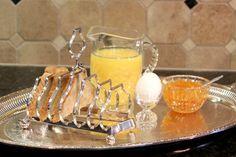 English Silver Plate Toast Rack - 6 Slice Toast Rack - Joseph Rogers & Sons Sheffield England - Vintage Silver Plate