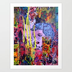 Relapse to Donnybrook Art Print by Nico Traut - $18.00