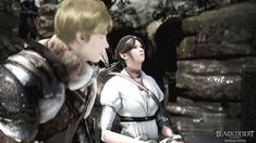 Florentino Ibarra and Orwen at Atanis Pond - An Unexpected Reunion — Black Desert Online SEA Philippines: Stories – Black Sun Tell My Story, Love Story, Still In Love, My Love, Black Desert Online, Slack Off, Up To The Sky, Waiting For Him, My Cousin