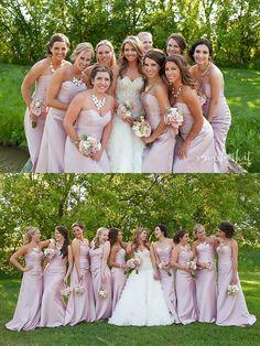 Bridesmaids, Purple Bridesmaid Dresses, #FoxHillsGolfCourseWedding #FoxHillsWeddings Image by Meg Darket Photography