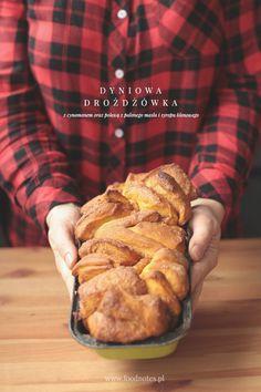 dyniowa drożdżówka / pumpkin bread