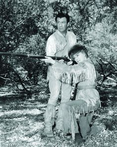 Still of Robert Taylor and Eleanor Parker in Many Rivers to Cross