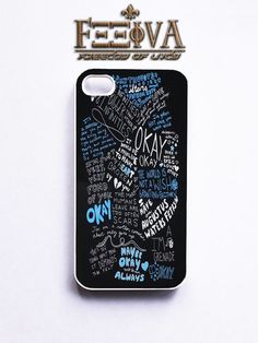 The Fault in Our Stars - Text Collages Phone Case For iPhone Samsung i | Feeiva