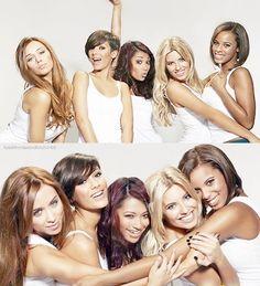 Una, Frankie, Vanessa, Mollie & Rochelle = The Saturdays.. I adore their friendship.
