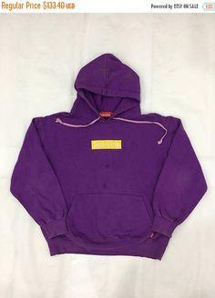 0d5f2228c3ae Supreme Box Logo Hoodie Purple Supreme Sweatshirt Supreme Streetwear Size L   S828