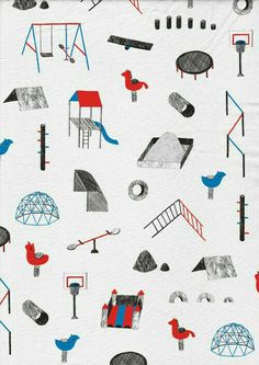 Amelie Fontaine's Illustrations with Soft Shades and Detailing Art Et Illustration, Pattern Illustration, Graphic Design Illustration, Motifs Textiles, Textile Patterns, Print Patterns, Web Design, Design Art, Repeating Patterns