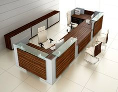 Stunning range of both modular and bespoke reception counters. Our portfolio of reception desks offers an eclectic range of designs and prices to suit all budgets. Reception Counter, Office Reception, Hospital Reception, Office Workstations, Light Table, Future House, Home Remodeling, Top Top, Interior