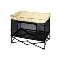 * Pet Kennel in Yellow Diamond from Quik Shade Pets (Medium) *
