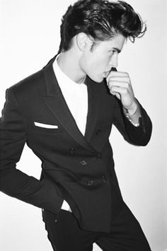 Chuck Bass Black And White