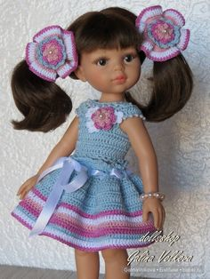 Добрый день, дорогие бэйбики! Новые наряды не заставили себя ждать, и мы снова с похвастушками для куклы Paola Reina. Вдохновленная
