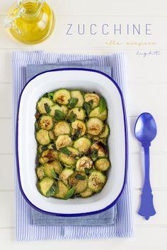 Zucchine alla scapece light | Chiarapassion