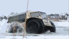 Este brutal todoterreno ruso tiene lo mejor de un camión y lo mejor de un tanque anfibio
